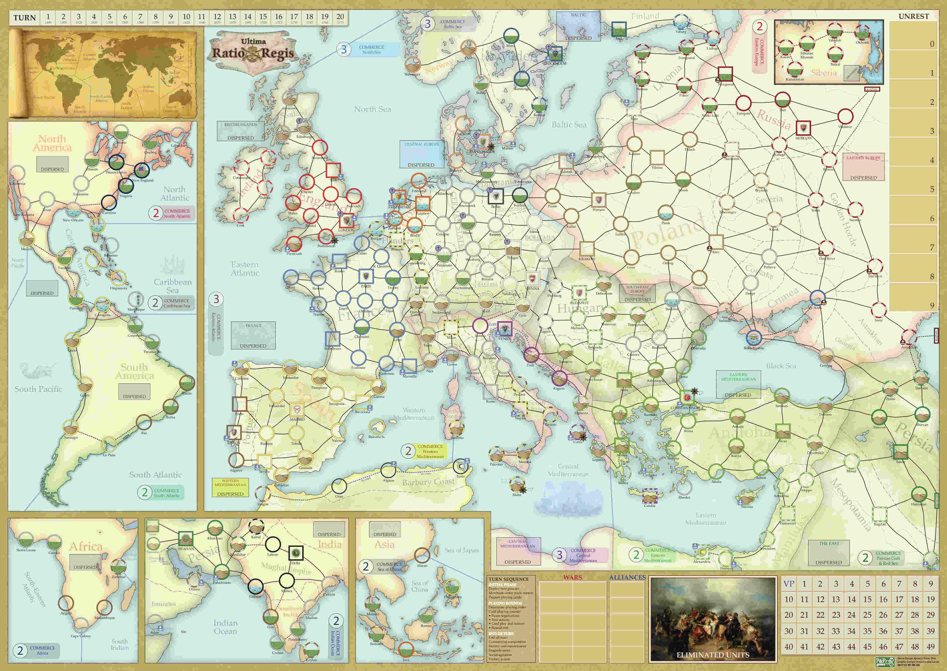 uRR map