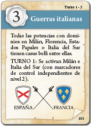 carta guerras italianas