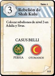 carta Rebelión Shah Kulu