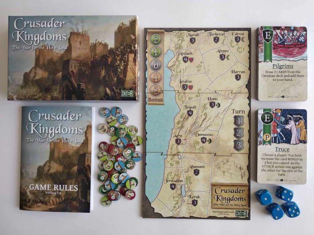 Crusader kingdoms mock up
