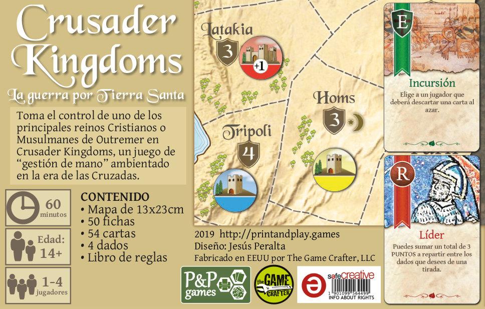 Crusader Kingdoms Fondo caja