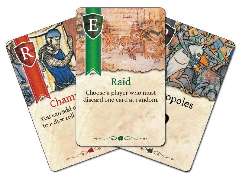 Crusader kingdoms cards