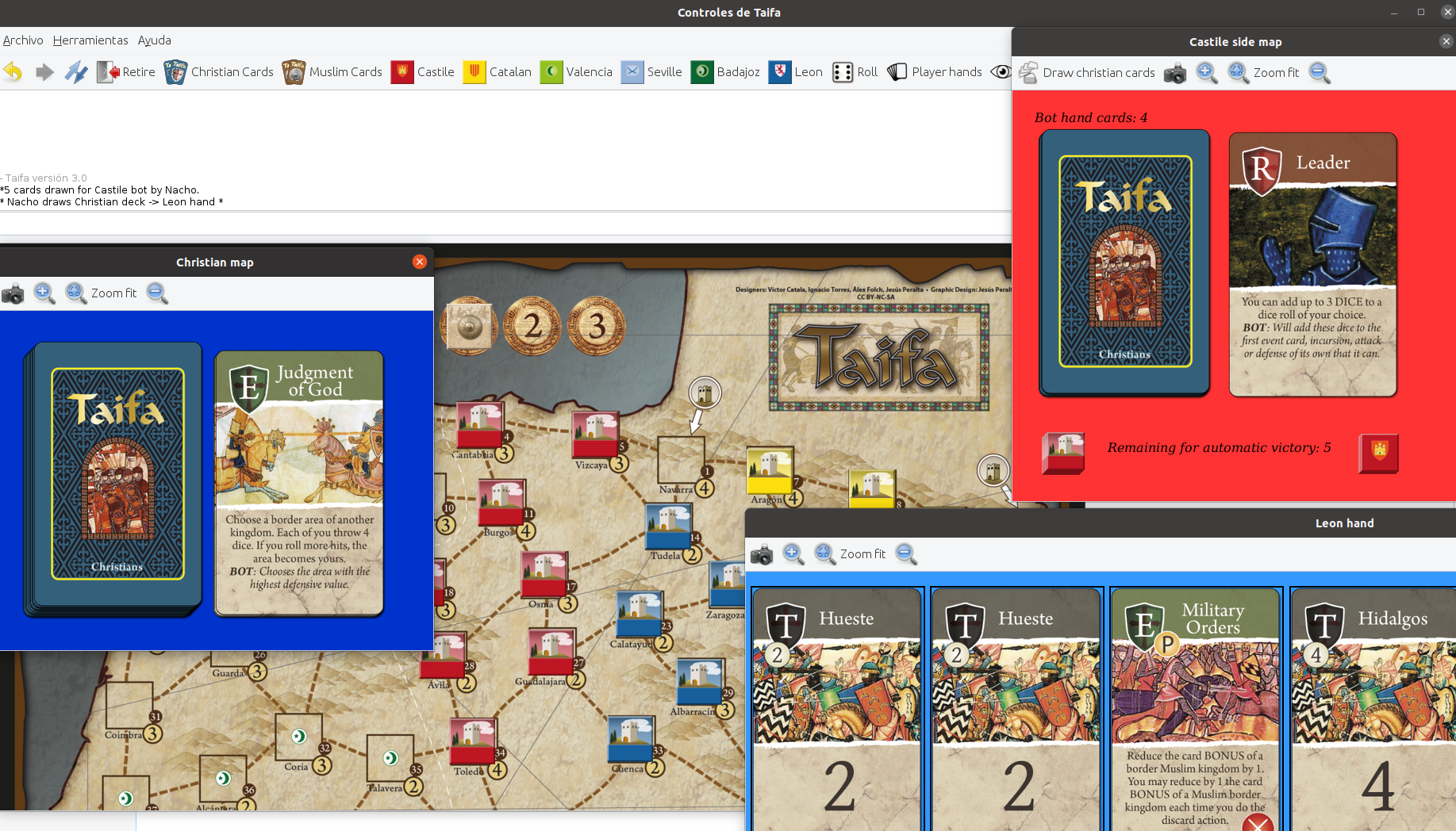 VASSAL module screenshot.