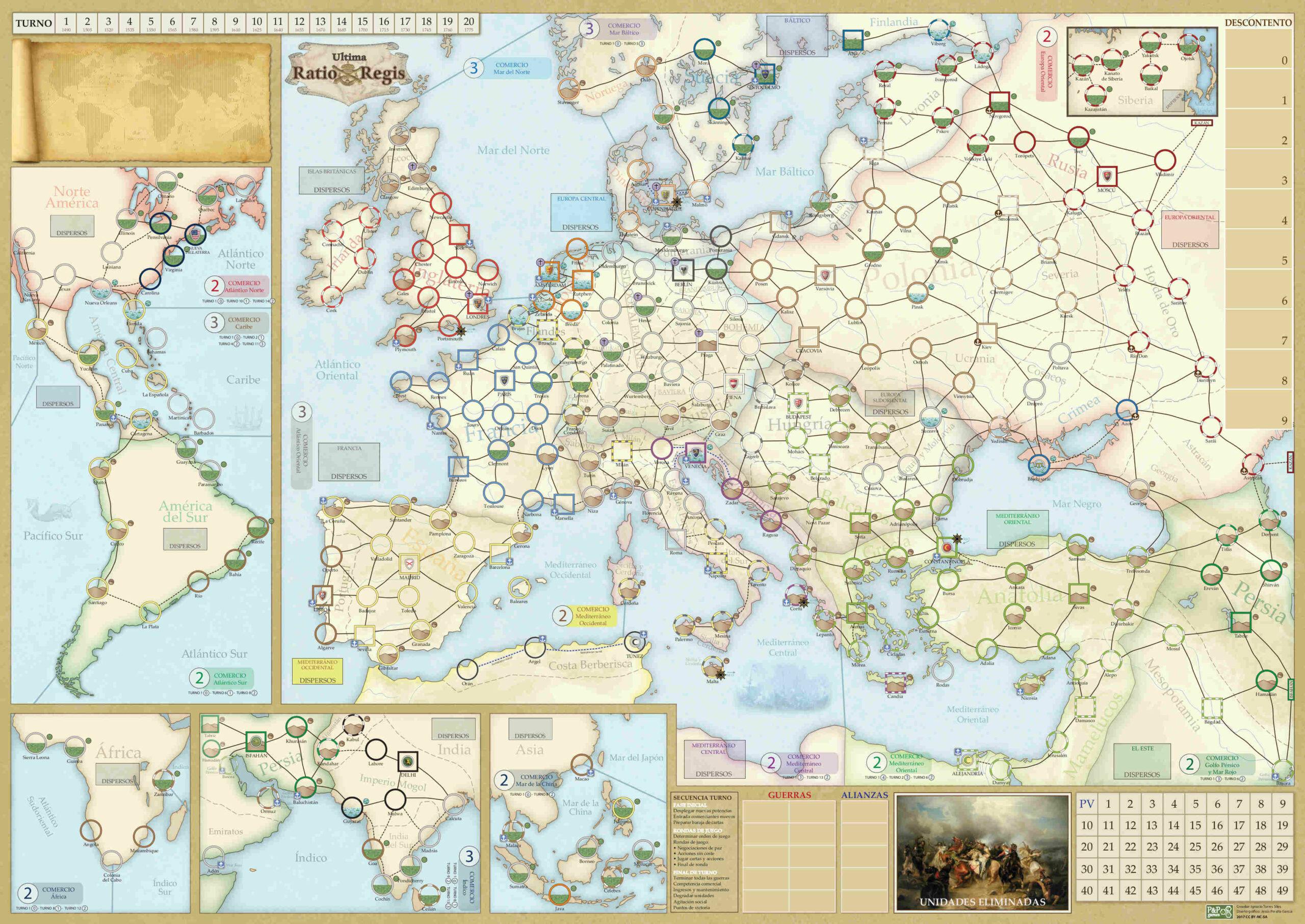 Mapa Ultima Ratio Regis